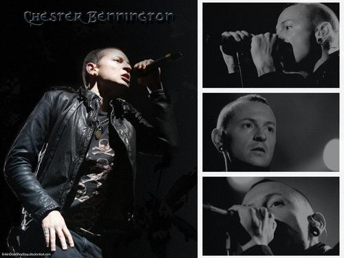 Chester Bennington wallpaper possibly containing a well dressed person and a business suit called Chester