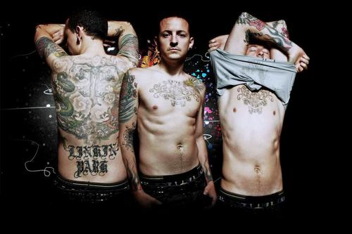Chester Bennington hình nền entitled Chez