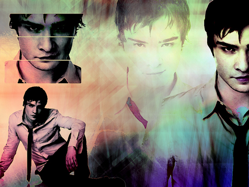 TV Male Characters wallpaper entitled Chuck Bass <3