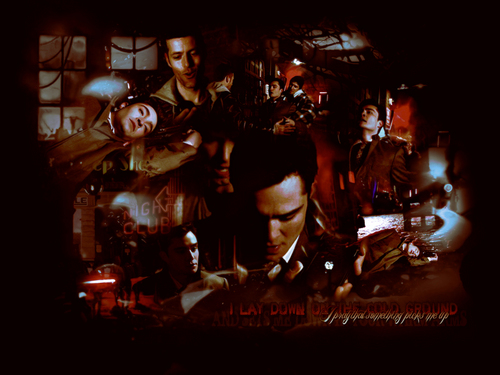 TV Male Characters wallpaper containing a show, concerto and a baterista entitled Chuck baixo <3