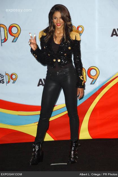 Ciara like MJ, I want a veste like this one!!!