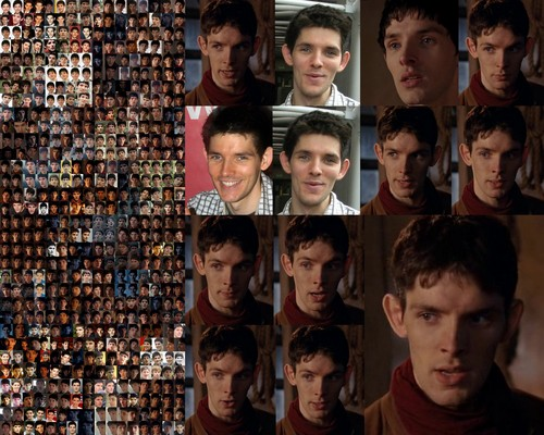 Colin Morgan wallpaper titled Colin Collage