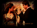 elana-and-damon - Damon and Elena wallpaper