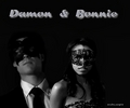Damon e Bonnie - damon-and-bonnie photo