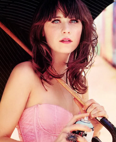 Zooey Deschanel wallpaper titled Deschanel