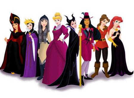 disney Princesses Villains