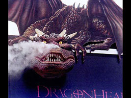 Dragonheart & Dragonheart 2 wallpaper with a triceratops and a sign called Dragonheart