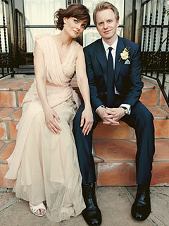 Emily Deschanel and David Hornsby's Wedding चित्र