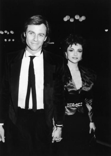Emma Samms & Tristan Rogers - Attend Benefit, 1985.