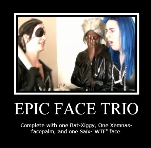 Epic face Trio