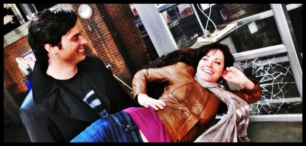 ERICA DURANCE TOM WELLING Smallville Magazine 3/07 #19 LEX and LANA