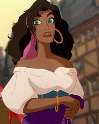 disney Leading Ladies wallpaper titled Esmeralda