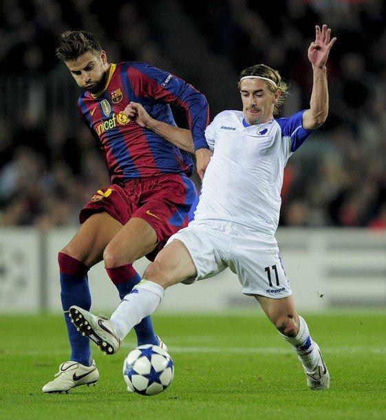 Gerard Pique Barcelona 2010. FC Barcelona 2-0 FC København