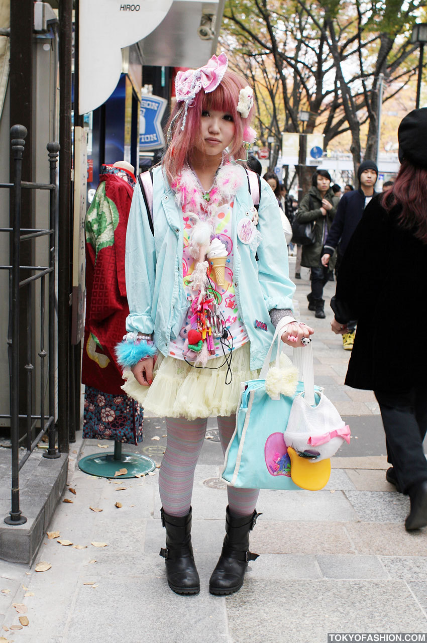 japanese street fashion images fairy kei fashion japanese girl in