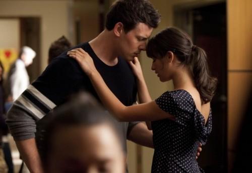 Finn & Rachel پیپر وال called Finchel <3