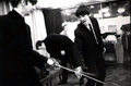 George and Ringo sword fighting!