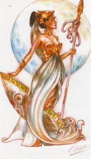 Griechische Mythologie Hintergrund called Gods of Greece