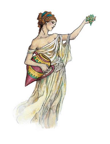 ग्रीक पौराणिक कथाओं वॉलपेपर titled Gods of Greece