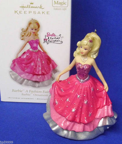 Hallmark Ornament Barbie A Fashion Fairytale