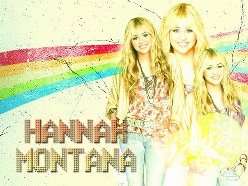Hannah Montana वॉलपेपर्स