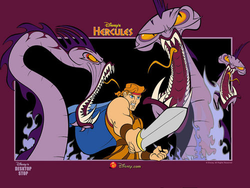 Leading men of Disney wallpaper with anime called Hercules