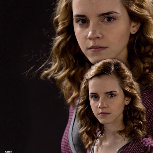 Hermione Granger wallpaper containing a portrait called Hermione