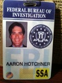 Hotch's badge!