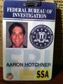 Hotch's badge!