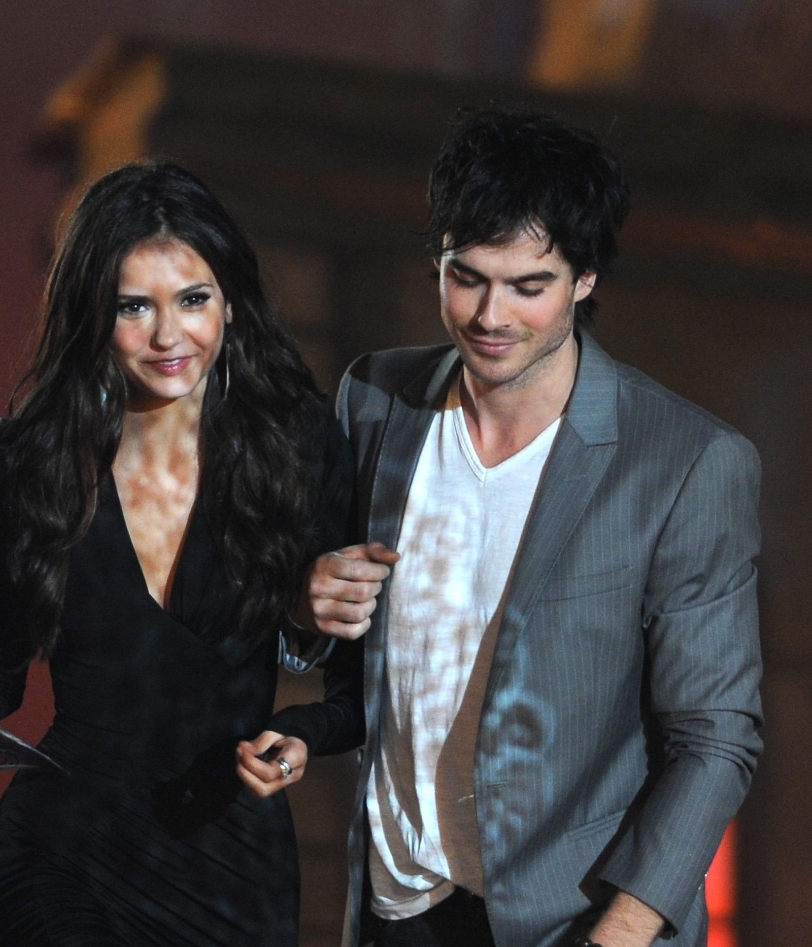 Ian/Nina @ Scream Awards 2010 (HQ)