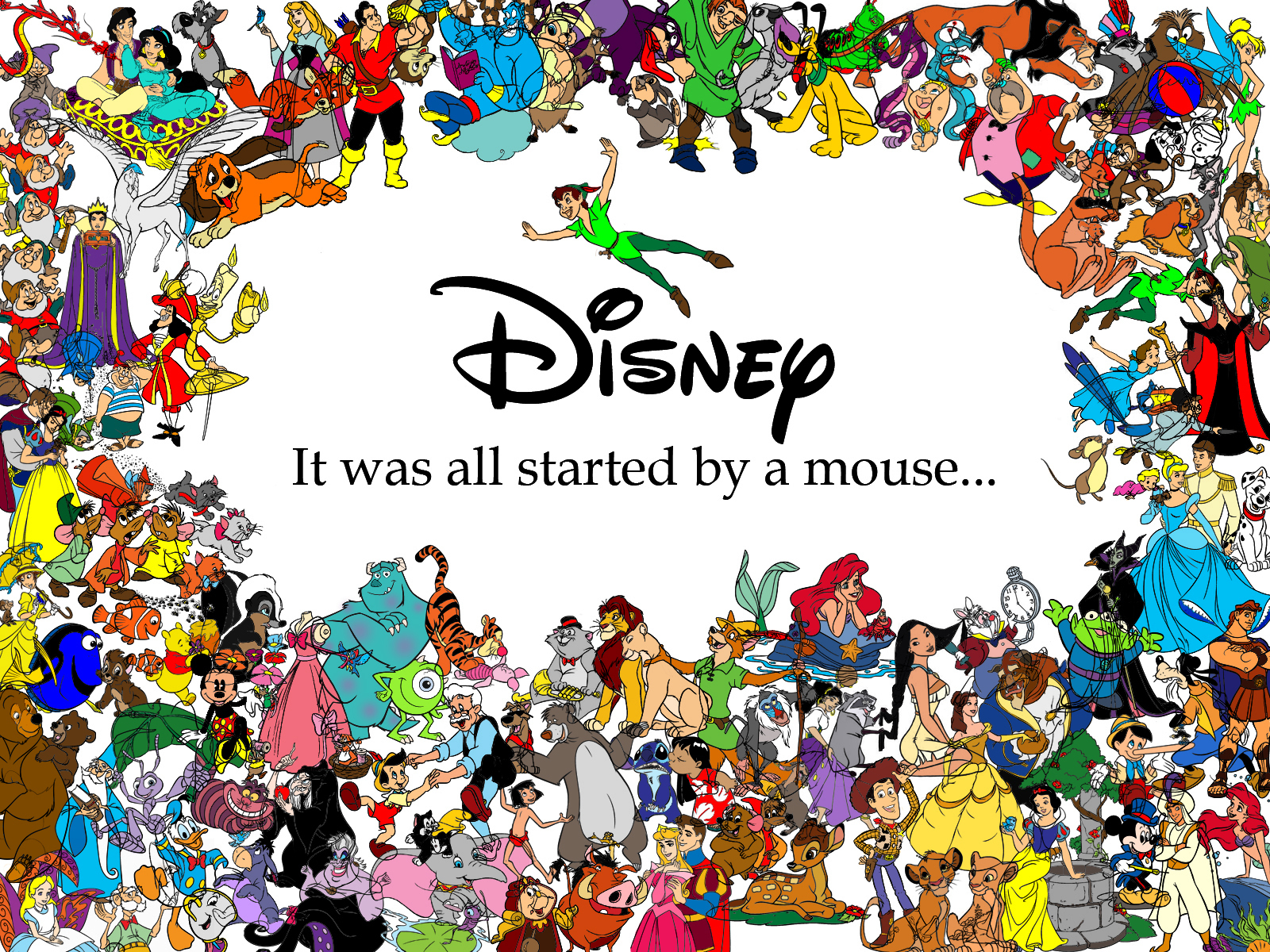 Classic Disney It All Started with a Mouse