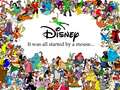 disney - It All Started with a Mouse wallpaper
