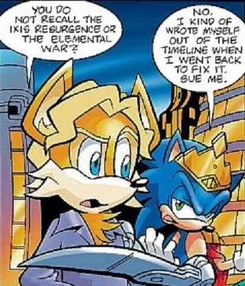 Jacques and King Sonic