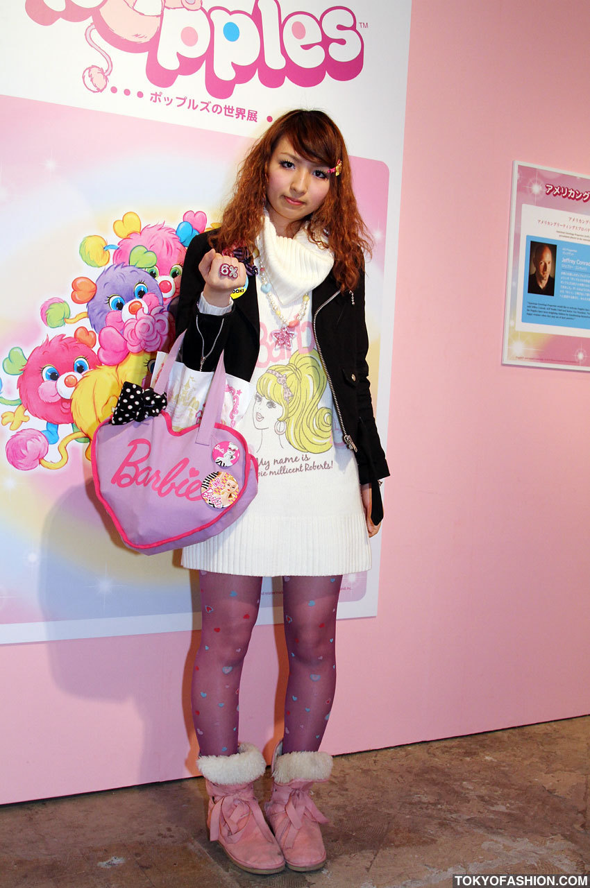 Japanese Street Fashion Images Japanese Girl In Barbie Fashion 6 Dokidoki Hd Wallpaper And