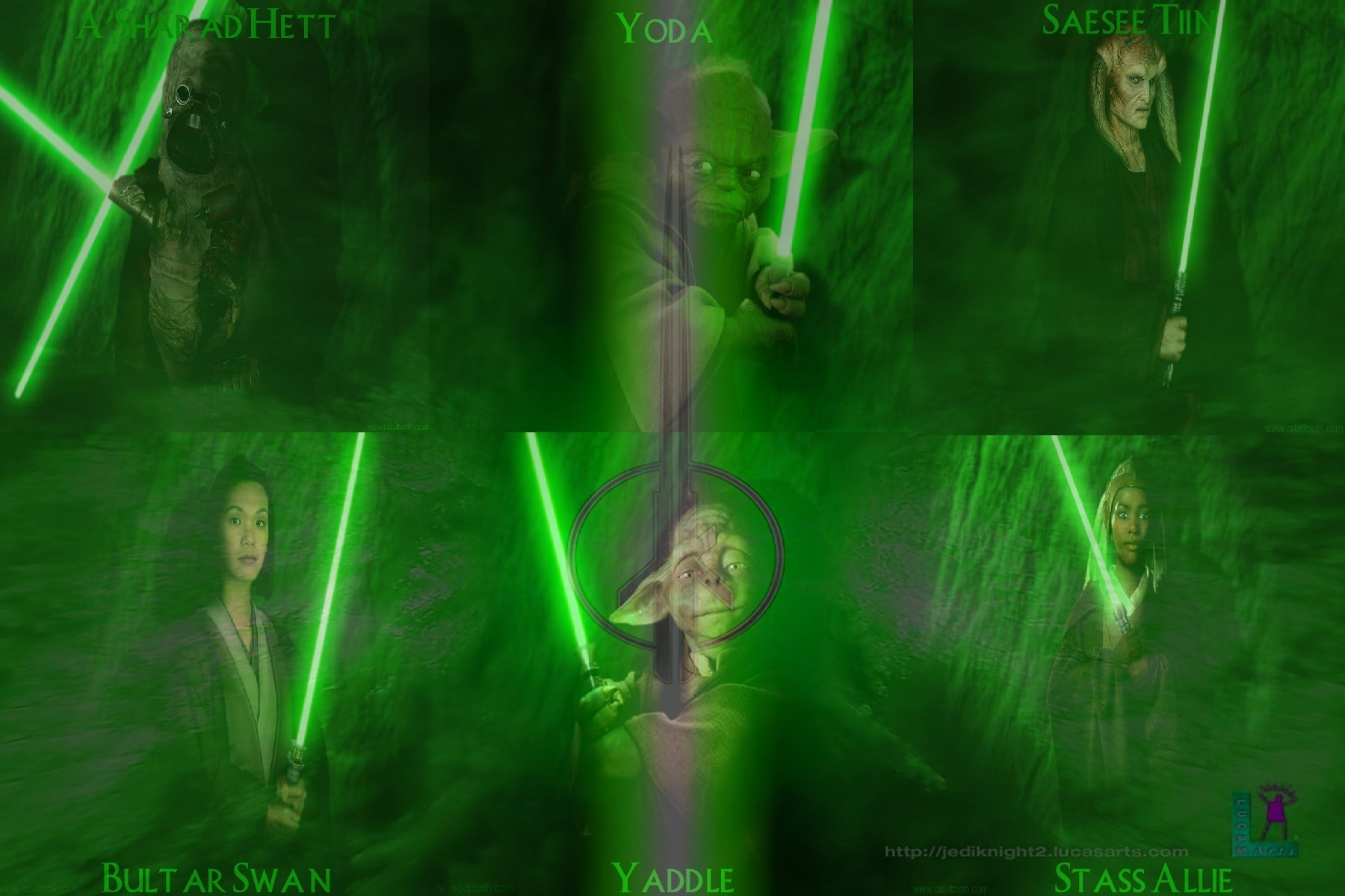 Star wars jedi knights masters