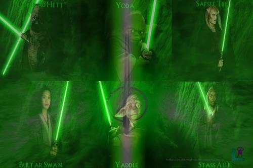 Jedi Knights & Masters