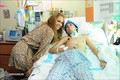 Jennifer Visit at a Children Hospital in San Juan 10/16/10