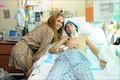 Jennifer Visit at a Children Hospital in San Juan 10/16/10