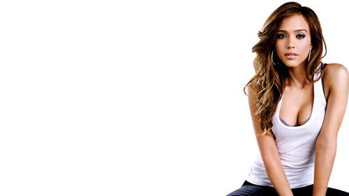 Jessica Alba wallpaper probably containing attractiveness and a portrait called Jessica Alba