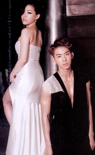 Jo Kwon & Ga in WGM, wedding pictures.