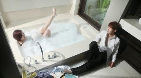 Jo kwon & Ga in wedding picture