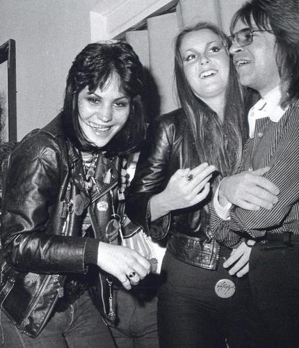 Joan, Lita & Rodney Bingenheimer