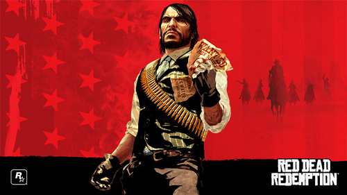 John Marston crumpling his own wanted poster