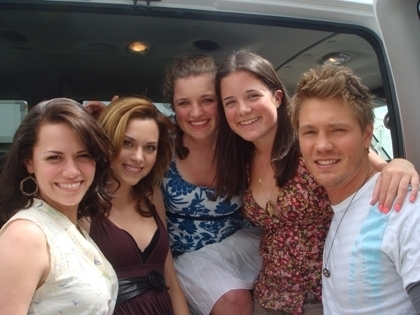 Joy, Hilarie, and Chad