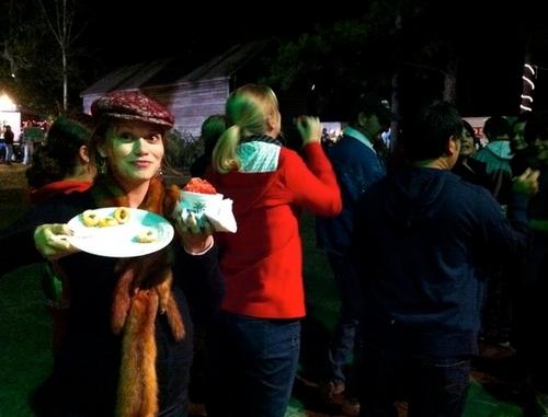 Joy at halloween carnival! :)