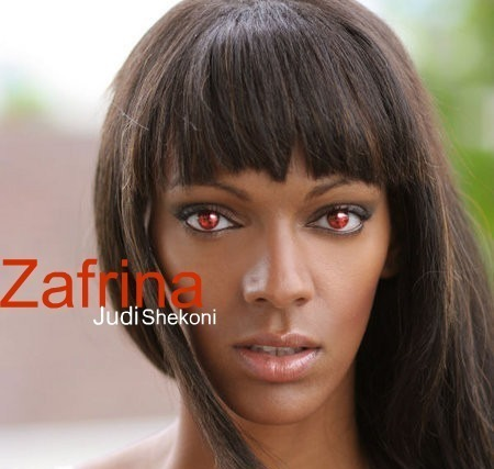 Judi Shekoni as Zafrina!