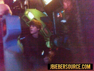 Justin at the laser tag