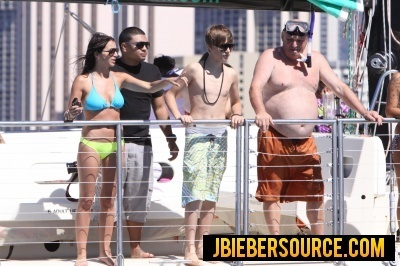 Justin in Hawaii