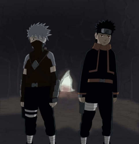 Какаси and Obito