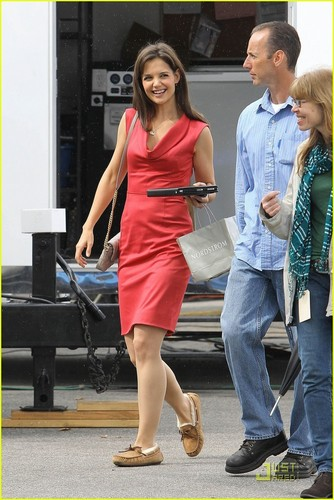 Katie Holmes: The Lady In Red