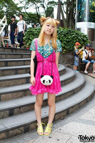 অন্তর্বাস Dress, বার্বি Bag & Panda টাকার থলি
